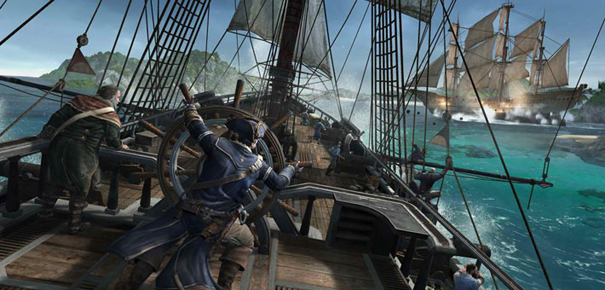Batailles navales dans Assassin's Creed 3