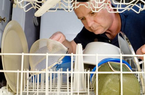 Chargement lave-vaisselle