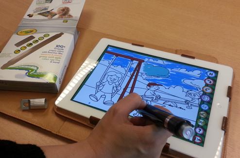 Crayon Crayola pour iPad