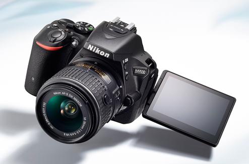 Le reflex Nikon D5500