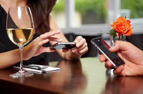 Échange d'information entre iPhone