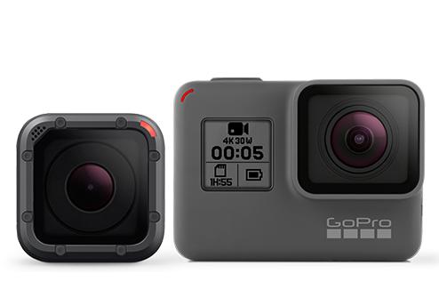 Nouvelles caméra sport GoPro Hero 5