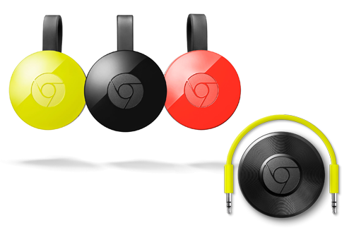 Google Chromecast TV et Audio
