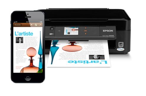 Imprimante Epson avec impression depuis un smartphone
