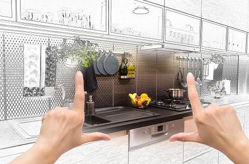 Projet de relooking d'une cuisine