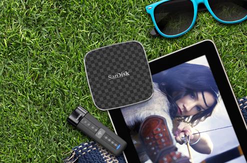 SanDisk Connect : clé et disque pour tablette