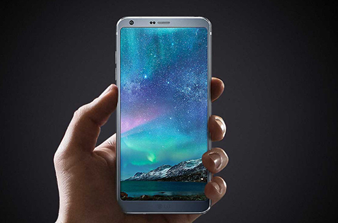 Le LG G6 avec un écran borderless