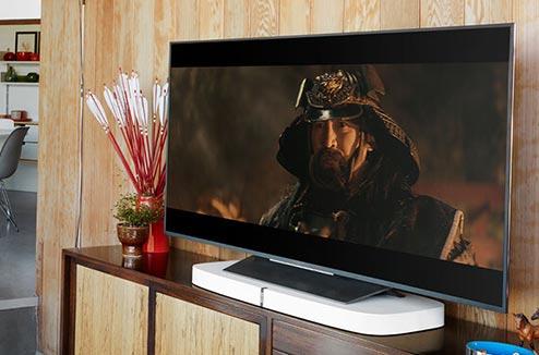 Sonos PlayBase avec une TV