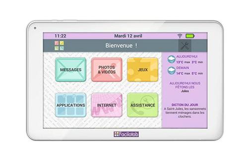 Tablette tactile Facilotab