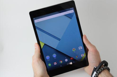 Tablette tactile HTC Nexus 9 Google : prise en main