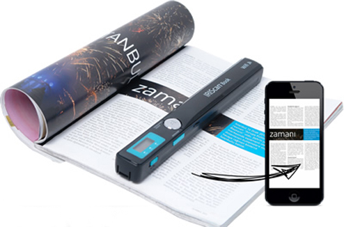 Scanner portable IriScanBook Wi-Fi Executive 3 : fonctionnement