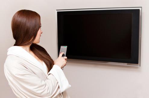Une TV dans la chambre