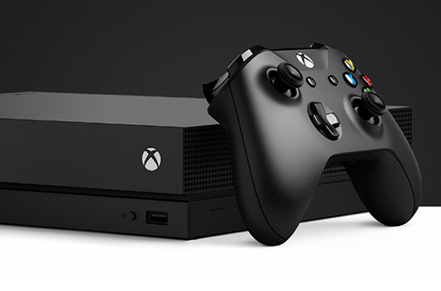 Précommande de la Xbox One X