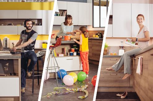 Reportage : 1 cuisine, 3 styles... Les détails ça change tout !
