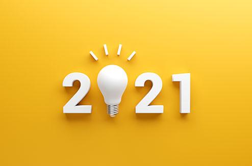 Objets pour entrevoir 2021
