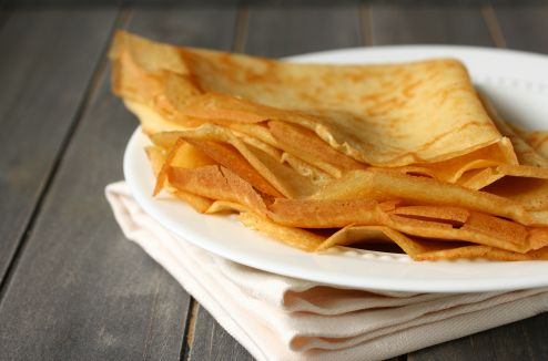 Cr pes l g res sans gluten et sans lait de vache darty vous - Recette crepe sans doseur ...