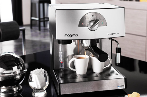 Boulanger Machine A Cafe A Grain Automatique