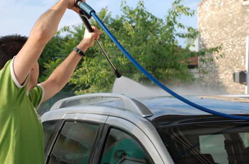 Nettoyeur haute pression et entretien extérieur