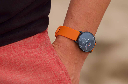 Montre connectée Withings Activité Pop orange
