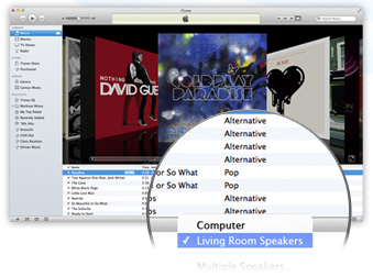 AirPlay sur iTunes