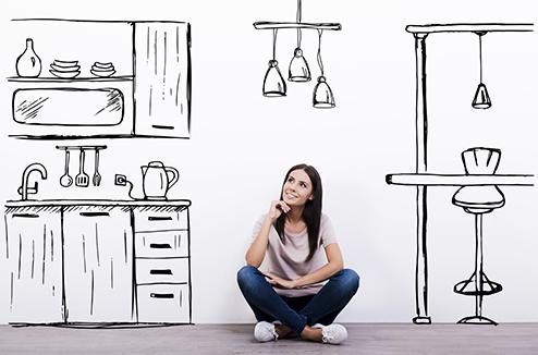 aménagement pour un petit appartement