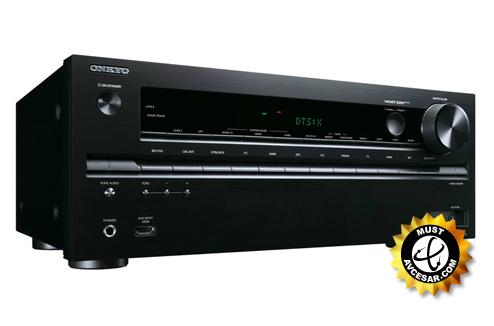 Amplificateur home cinéma Onkyo TX-NR646 noir