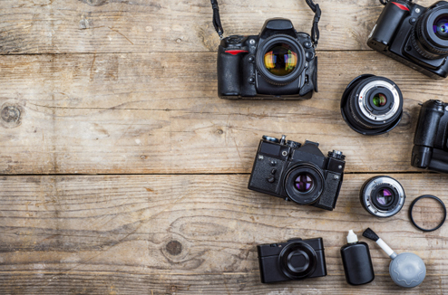 Plusieurs appareils photo