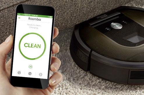 Aspirateur robot connecté iRobot Roomba 980