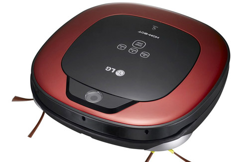 test de l 39 aspirateur robot lg hom bot darty vous. Black Bedroom Furniture Sets. Home Design Ideas