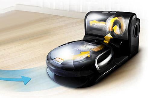 j 39 ai test l 39 aspirateur robot samsung sr8980 darty vous. Black Bedroom Furniture Sets. Home Design Ideas