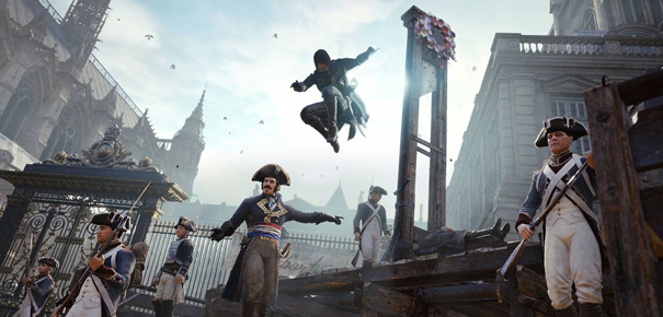 Assassin's Creed Unity sur Xbox One et PS4 de Ubisoft