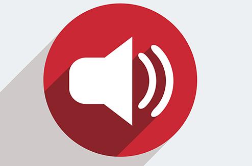 Symbole enceinte audio