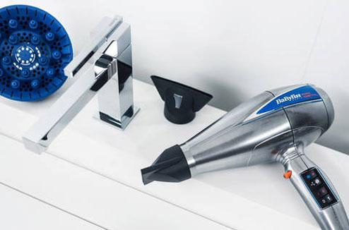 Sèche-cheveux à moteur digital Babyliss Pro Digital