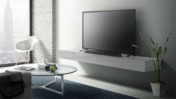 deco mur derriere tv good image with deco mur derriere tv cool beton cire solresine jscdeco. Black Bedroom Furniture Sets. Home Design Ideas