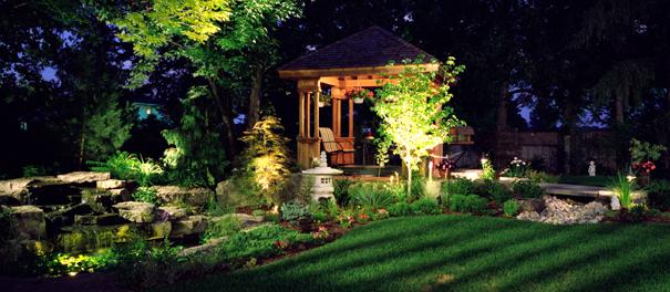 Eclairer son jardin les cl s et quelques id es for Spot eclairage jardin