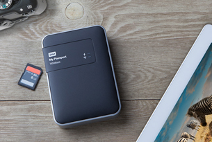 Disque dur sans fil My Passport Wireless de Western Digital