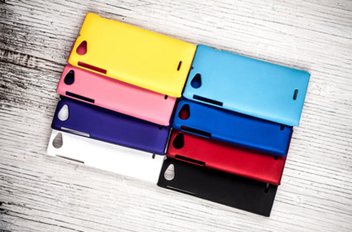 Coques de mobile colorées