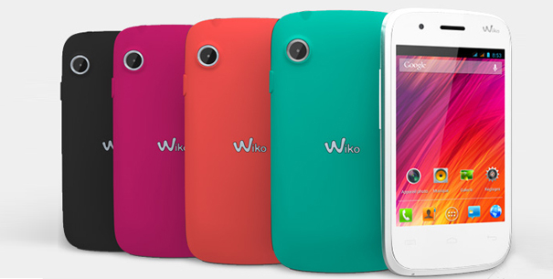 Smartphone Wiko Ozzy ultra-compact