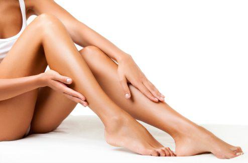 Des jambes d'une femme