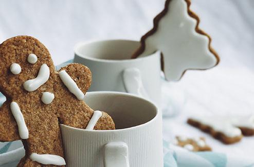 Les biscuits en pain d'épice de Juliette