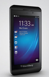 Design du BlackBerry Z10