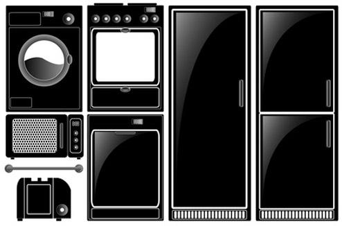 Electroménager noir494