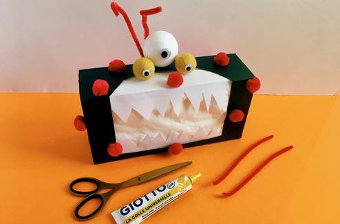 DIY Halloween : la boîte de mouchoirs qui fait (gentillement) peur !