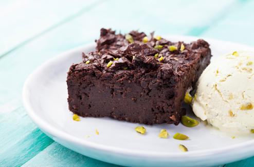 Brownie minute au chocolat cuit au micro-ondes