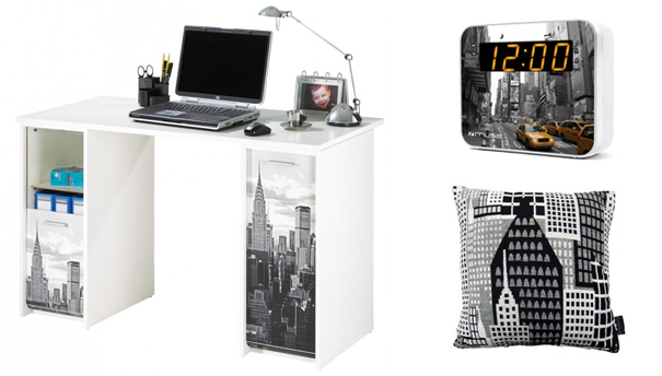 un air de new york dans la d co darty vous. Black Bedroom Furniture Sets. Home Design Ideas
