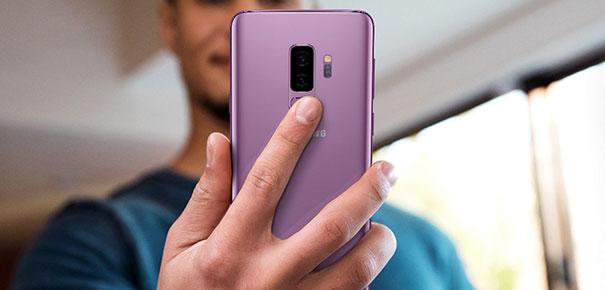 Capteur d'empreintes du Samsung Galaxy S9+