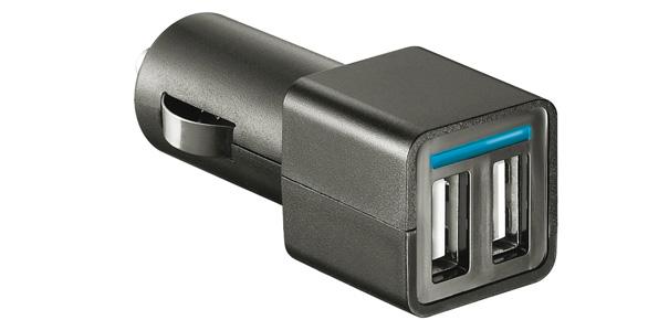 Quels accessoires choisir pour ma tablette tactile darty vous - Chargeur allume cigare 2 ports usb ...