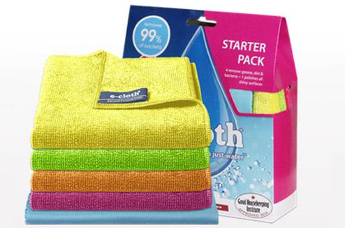 Chiffons microfibre e-cloth