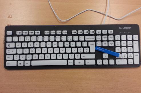 Design du clavier K310 de Logitech