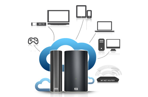 Disque dur My Book Live Western Digital : concept